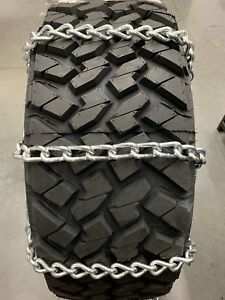 8mm Extra Thick Heavy Duty Snow Tire Chains 33x12 50r15lt 55 2 4