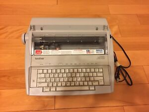 Brother Gx 6750 Portable Electronic Typewriter Correctronic Great Condition