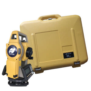 New Topcon Es 101 Total Station
