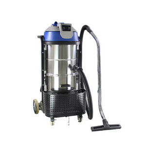Glf 220v 3000w Stainless Steel Vac Industrial Grade Vacuum Cleaner Wet Dry 90l