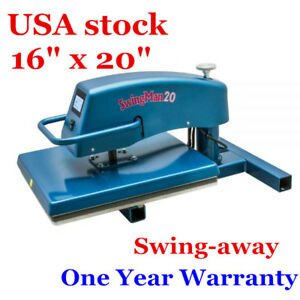 Usa Digital Manual 16 X 20 Hix Swing away Heat Press Machine Original Quality
