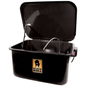 Car Parts Washer Cleaner Automotive Portable 3 5 Gallon Heavy Duty Steel Black