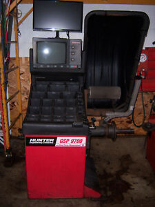 Hunter Gsp9700 Road Force Wheel Tire Balancer Machine