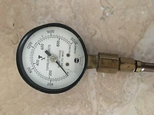 Tuffaloy Force Weld Gauge 2000 Lb With Certificate Pressure Gage