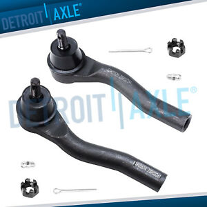 2 Front Outer Tie Rod End Links For 2007 2008 2009 2010 2011 2012 Nissan Sentra