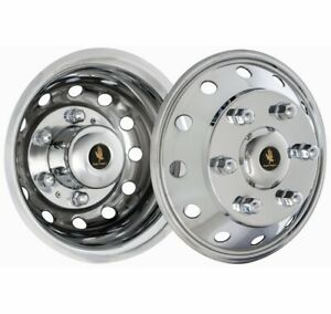 Ford Transit Wheel Simulator Snap On Hub Caps Stainless Steel Wheel Cover Liners