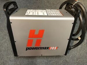 Hypertherm Powermax 105 Plasma Cutter 059374 Power Unit
