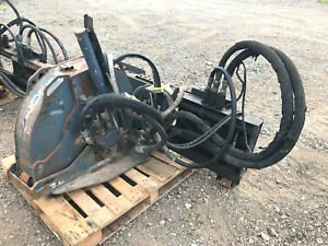 Zanetis Road Saw Skid Steer Attachment Roadhog Bobcat Cat Alitec