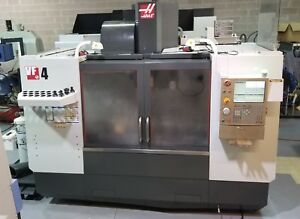 Haas Vf 4 Vertical Machining Center With 10 000 Rpm Geared Spindle New 2011