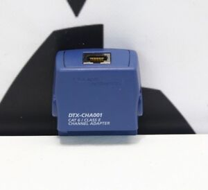 Fluke Networks Dtx cha001 Cat6 class E Channel Adapter For Dtx 1800 Dtx 1200