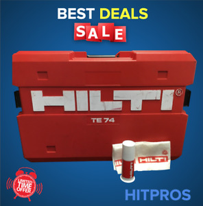 Hilti Case For Te 74 kit Box Only Preowned Fast Shipping