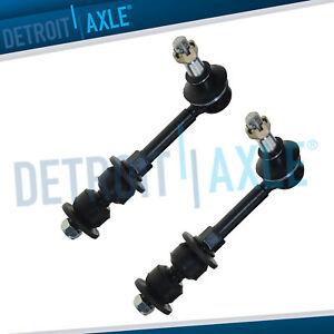 For 00 01 Dodge Ram 1500 2500 3500 4wd Front Stabilizer Sway Bar End Links Pair