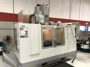 Haas Vm 3 40 x Cnc Vertical Machining Center New 2007