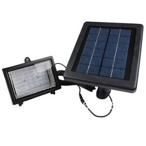 2019bizlander Solar Powered 30led Outdoor Spot Light Auto turn on off For Garden