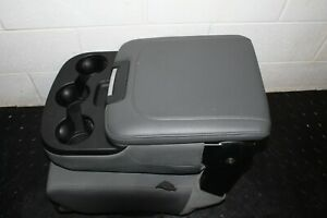 2013 2016 Dodge Ram Center Console Jump Seat W Cup Holder Grey Single Storage
