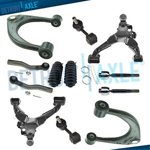 Fit 2008 2016 Sequoia Tundra Front Upper Lower Control Arms Tierods Sway Bar