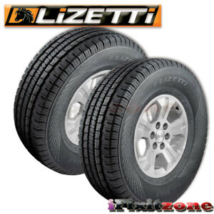 2 Lizetti Lz hst P225 70r16 101t Quality All Season Truck Tires 225 70 16 New
