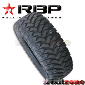 1 Rolling Big Power Rbp Repulsor Mt 33x12 50r15lt 6p 108q All Terrain Mud Tires
