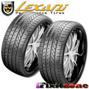 2 Lexani Lx Twenty 255 35r19 96w Xl Ultra High Performance Tire 255 35 19 New