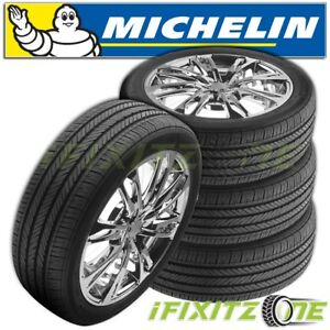 4 Michelin Pilot Hx Mxm4 P235 55r17 98h Tires
