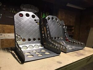 Bomber Seats Metal Brand New Hand Made Free Shipping Rat Rod Seats Hot Rod