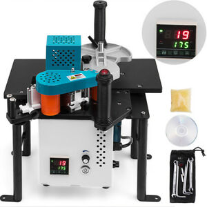 Woodworking Portable Edge Banding Machine 0 3 3mm Thick 765w Total 10 45mm Width