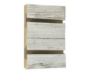 New Weathered Barnwood Lpl Slatwall Panel 4 Ft X 4 Ft New First Quality