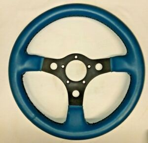 Grant Racing Blue Performance Gt 13 Steering Wheel Free Shipping New Item
