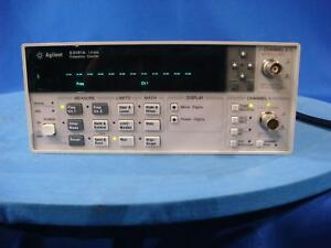 Agilent 53181a 225 Mhz Frequency Counter With Option 015