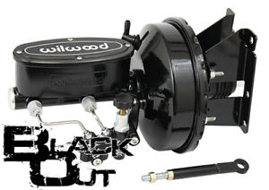 1973 87 Chevy Gmc C10 C20 Truck Power Brake Booster Wilwood Black Out Series