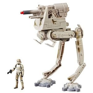 Star Wars Solo AT-DT Walker Vehicle Force Link 2.0 3.75 Inch Scale