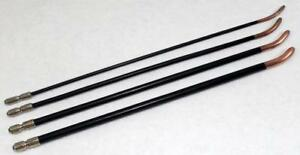 Lot Of 4 Rare Antique Victorian Surgical Urethral Probe Sounds
