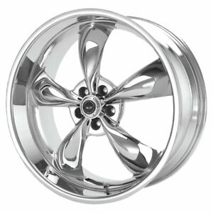 American Racing Ar605m Torq Thrust M 18x9 5x120 Offset 34 Chrome Quantity Of 4