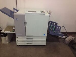 Riso Comcolor Production Series 3010s 3050s Color Printers