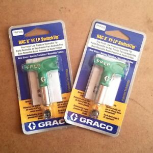 Graco Rac X Fine Finish Lp Switchtip 310 Lot Of 2 Tips