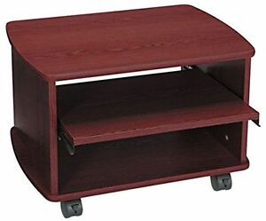 Safco Products 1954mh Picco Duo Printer fax Machine Stand Mahogany New