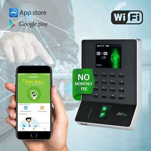 Time Clock No Software Fees Payroll Time Recorder Fingerprint Time Attendance