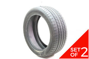 Set Of 2 Used 245 45r18 Goodyear Eagle Ls 2 Ao 100h 6 6 5 32