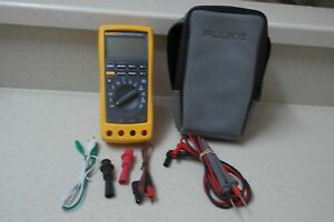 Fluke 187 True Rms Digital Handheld Multimeter Data Logging Dmm