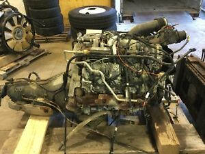 2009 Duramax Diesel Engine With Transmission Core