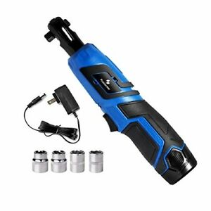 Powerfu 3 8 Cordless Ratchet Wrench 12v Electric Ratchet Wrench Kit