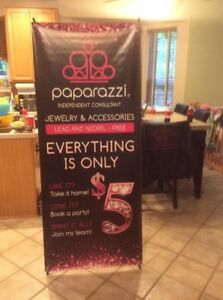 banner X Stand Included 32 x 71