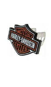 Authentic Harley Davidson Solid Metal Bar Shield Hitch Cover Plug 2216 New