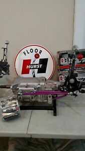 Hurst Ram Rod V Gate Inline 4 Speed Shifter W Lightning Rods Muncie Sup T 10