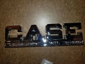 Ji Case Tractor Side Emblem Part A 11320 Fits 511b 400b 700 610b 300b 800 900