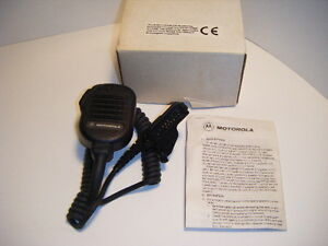 Motorola Nmn6191b Original Noise Canceling Remote Speaker Mic New In Box