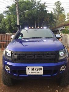 Amber Led Front Grille Fit Ford Ranger Pickup 2012 2014 T6 Px1 Strong Grill