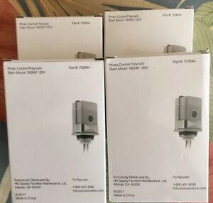 4 For 37 50 Stem Mount Photo Control 120 Raintight Outdoor Photocell