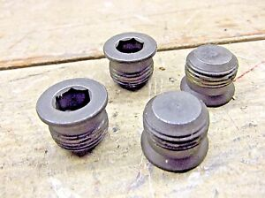 4 Chevrolet Gm 12554844 Engine Oil Galley Plugs For 6 2l 6 5l Diesel Engines