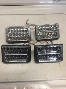 Set Of 4 Whelen Edge Freedom Light Bar Super Led Inboard Modules 6x6 R r